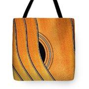 Acoustic Curve No 7 Tote Bag by Bob Orsillo