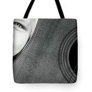 Acoustic Curves No 6 Tote Bag by Bob Orsillo