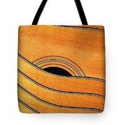 Acoustic Curves No 7,v Tote Bag by Bob Orsillo