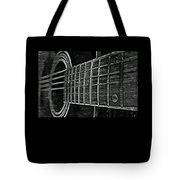 Acoustic Guitar Musician Player Metal Rock Music Strings Tote Bag