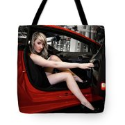 Action Red Tote Bag