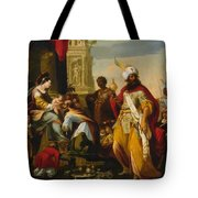 Adoration Of The Magi 1624 Tote Bag