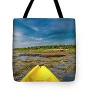 Adventurous Kayak In Maine Tote Bag