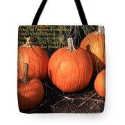 The Pumpkin Patch Tote Bag