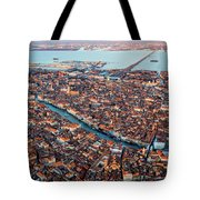 Aerial View Of Grand Canal, Venice, Italy Tote Bag