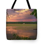 After A June Thunderstorm II Tote Bag