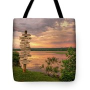 After A June Thunderstorm Tote Bag