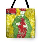 After Billy Childish Painting Otd 23 Tote Bag