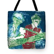 After Billy Childish Painting Otd 33 Tote Bag