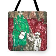 After Billy Childish Painting Otd 45 Tote Bag