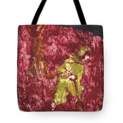 After Billy Childish Painting Otd 7 Tote Bag