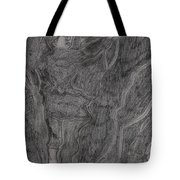 After Billy Childish Pencil Drawing 11 Tote Bag