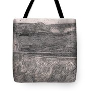 After Billy Childish Pencil Drawing 18 Tote Bag