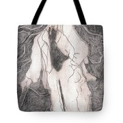 After Billy Childish Pencil Drawing 21 Tote Bag