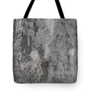 After Billy Childish Pencil Drawing 3 Tote Bag