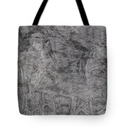 After Billy Childish Pencil Drawing 5 Tote Bag