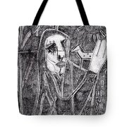 After Childish Edgeworth Pencil Drawing 10 Tote Bag