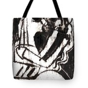After Mikhail Larionov Black Oil Painting 1 Tote Bag