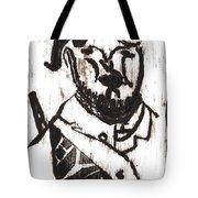 After Mikhail Larionov Black Oil Painting 2 Tote Bag