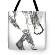 After Mikhail Larionov Pencil Drawing 12 Tote Bag