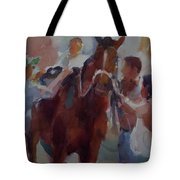 After Race Tote Bag