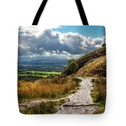 After The Rain On The Trail Tote Bag