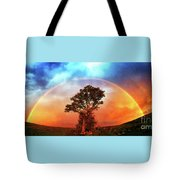 After The Storm, California Foothills                        Tote Bag