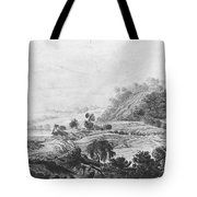 After The Tornado  Pavel Petrovich Svinin 1787 88-1839 Tote Bag