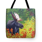 Afternoon Munch Tote Bag by Tracey Goodwin