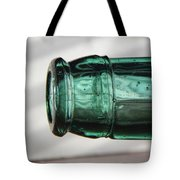 Air Bubbles In Vintage Glass Tote Bag