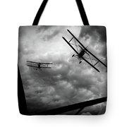 Air Pursuit Tote Bag by Bob Orsillo