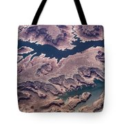 Air View Of The Colorado River Tote Bag