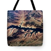 Air View Of The Grand Canyon Tote Bag