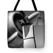 Airplane Propeller Tote Bag