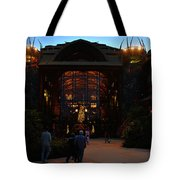 Ak Lodge Lobby Christmas Tote Bag