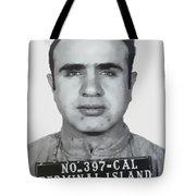 Al Capone Mugshot 1939 - T-shirt Tote Bag