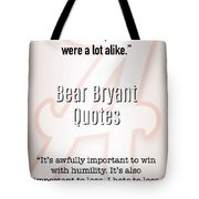 Alabama's Greatest 4 Tote Bag