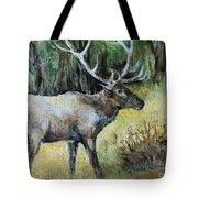 Alaska Elk Tote Bag