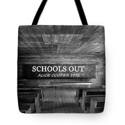 Alice Cooper Schools Out Tote Bag