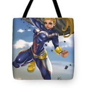 All Might Tote Bag by Pete Tapang