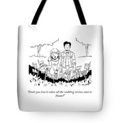 All The Wedding Invites Tote Bag