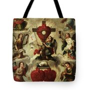 Allegory Of The Holy Eucharist Tote Bag