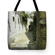 alley in Hammamet, Tunisia Tote Bag