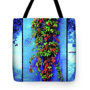 Alley-wall Paradise Tote Bag