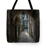 Alleys Of San Marino Tote Bag by Jaroslaw Blaminsky