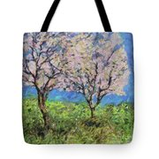 Almonds In Full Bloom Tote Bag