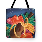 Aloha Welcome To Hawaii, 1932 Poster Tote Bag
