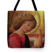 Altarpiece Angel Antique Christian Catholic Religious Art Tote Bag