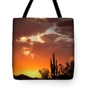 Always Look To The West Tote Bag