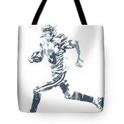 Amari Cooper Dallas Cowboys Pixel Art 3 Tote Bag